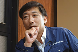 遠藤硝子株式会社 代表取締役 遠藤 俊さん